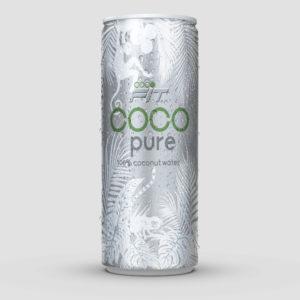 cocofit pure 100% Kokosnusswasser in Dose