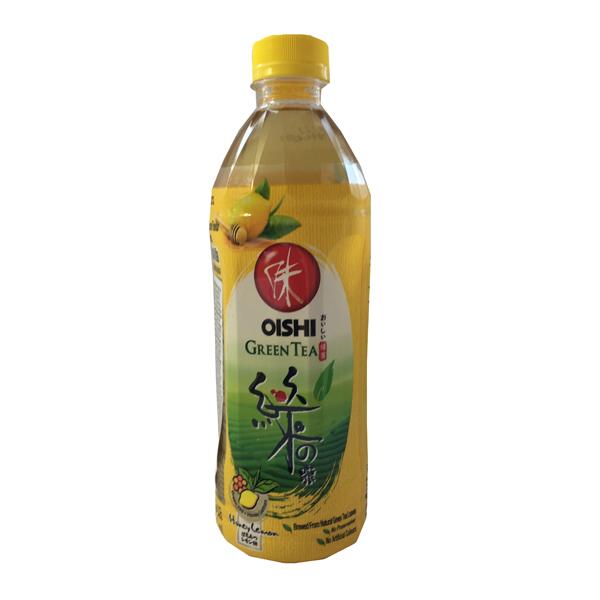 Oishi Green Tea Honey Lemon 500ml Green Chili